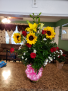 Roses and sunflowers  Roses and sunflowers