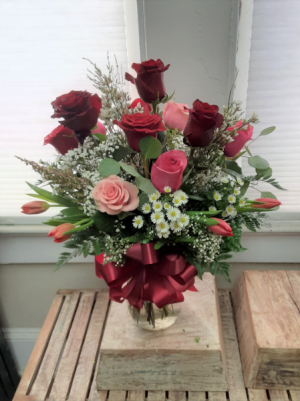 Roses and Tulips  in Nassawadox, VA | Florist By The Sea