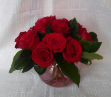 Roses Are Red Keepsake Arrangement