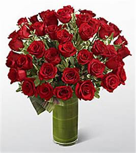 Roses Are... 36 Red Luxury Collection