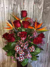 ROSES & BIRDS LOCAL DELIVERY ONLY