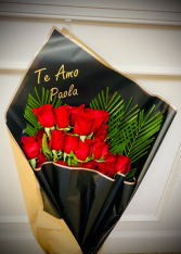 Roses by the heart Bouquet Roses