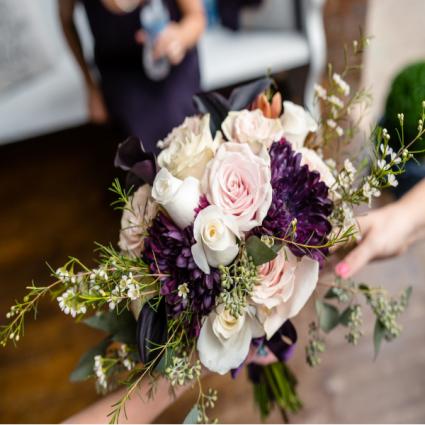 Roses Cremons, Calla creation bouquet