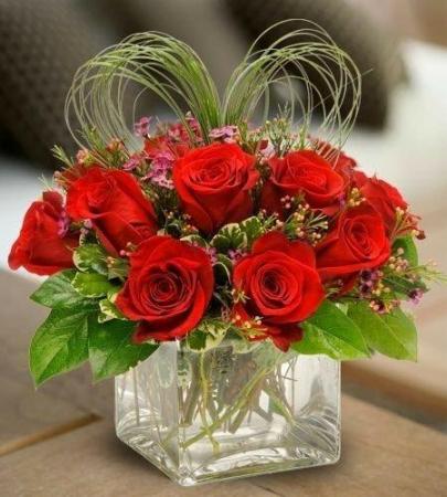 Roses Cubed Rose