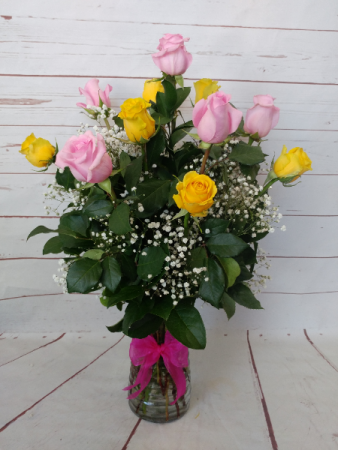 Yellow & Pink Dozen
