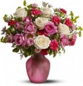 Simply Beautiful Rose Medley Rose Arrangement