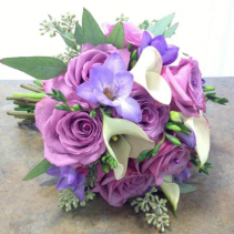 Roses, Freesia & Calla Lilly Bouquet