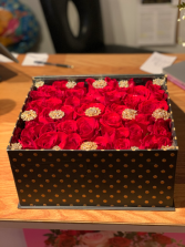 Roses in a Box Box full of Roses and Jewels