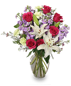 Roses, Lilies and stock  Mother's Day in Hoxie, KS | Cressler Creations & Gifts