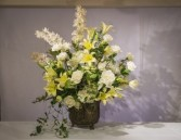 Roses, Lilies and Cymbidium Orchids va-124