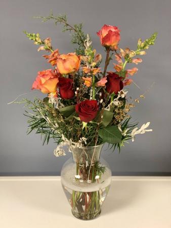 Roses Love Local! Vase Arrangement