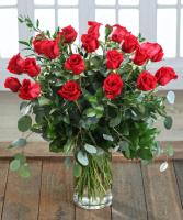 Roses My Love Mixed greens and euc