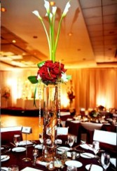 Calla Lily Arrangement Wedding Flowers