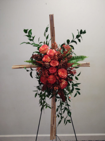 Roses on the ross  Roses on the cross