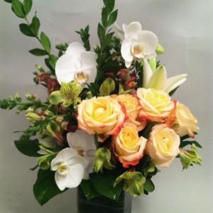 Roses &Orchids Vase