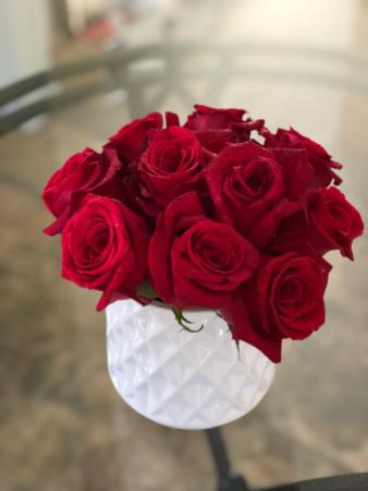 Roses R Red Arrangement