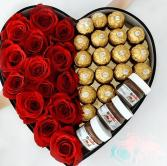 Roses Red Ferrero Rocher