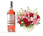Roses &  Rosé Flowers and Wine
