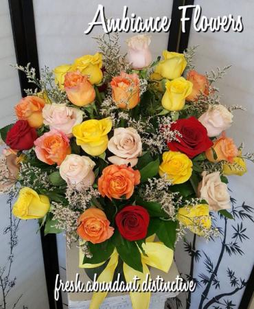 Roses.Roses.Roses 4 Dozen Roses