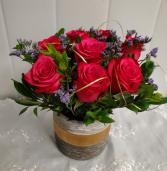 Roses-Simply Classic dark pink