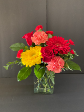 Roses & Sunshine Birthday Arrangement