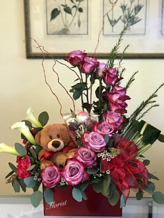 Roses & Teddy Valentine Special