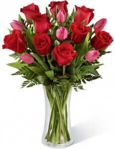 Roses & Tulips Just Because I Love You
