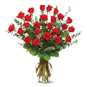 ROSES TWENTY FOUR RED ROSES  in Daphne, AL | WINDSOR FLORIST