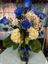 Rosey Blue