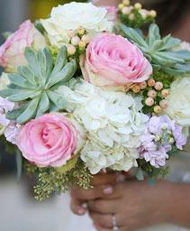 Rosey Desert Bouquet