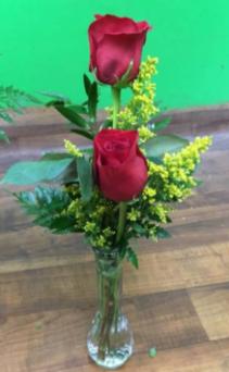 Rosey Duo Red Roses Arrangement