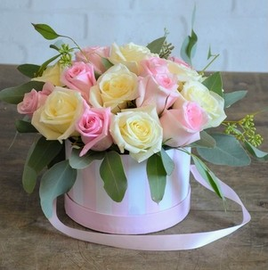 Rosey Hat Box