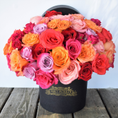 Rosey Posey Box Flowers