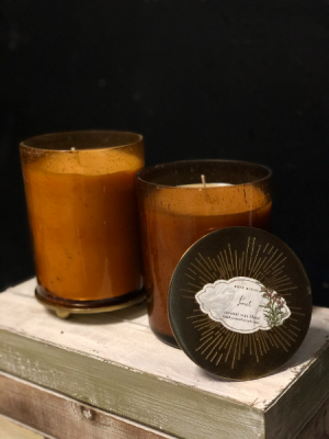 Rosey Ring Forest Candle 12 OZ Cedarwood, Fir Needles and pine scented in Key West, FL | Petals & Vines