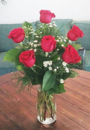 Rosey Romance Red Rose Bouquet In Bluffton Sc Berkeley Flowers