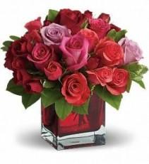 Rosey Surprise Floral Arrangement