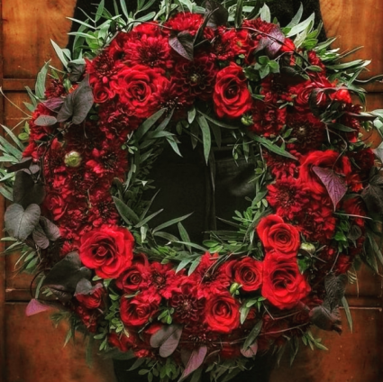 Rosey Wreath