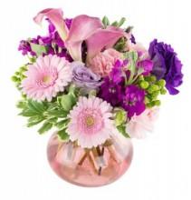 ROSIE POSIE  compact vase design