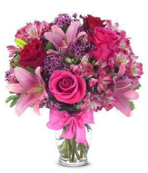 Rose & Lilly Bouquet in Jasper, TX | BOBBIE'S BOKAY FLORIST