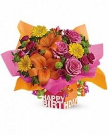 Rosy Birthday Present Birthday