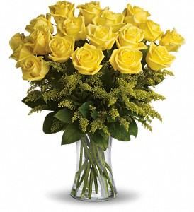 Rosy Glow Bouquet Rose Arrangement
