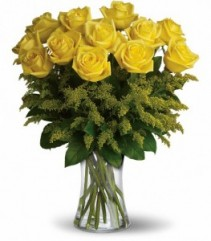 Rosy Glow Vase Arrangement