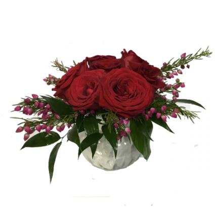 Rosy Red Posy Floral Design floral design