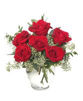 Rosy Romance Vase arrangement