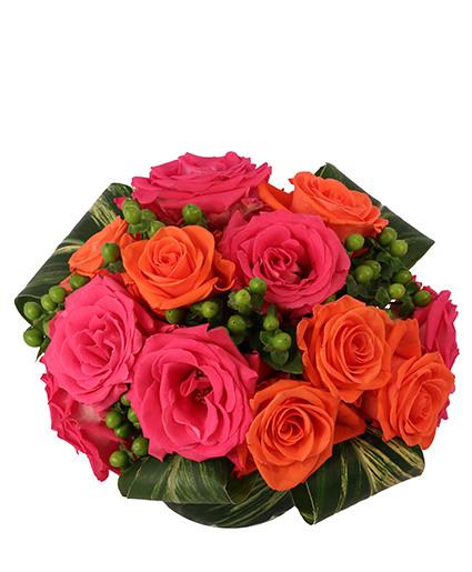 Rosy Sunset Floral Design
