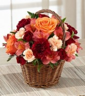Rosy Treasure Fall Arrangement