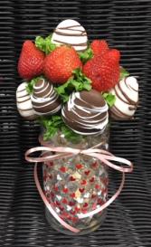Round Heart Vase Valentines