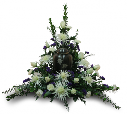 Round Urn Arrangement (urn not included)