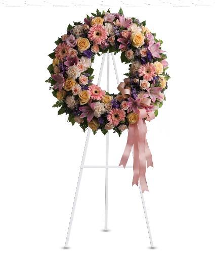 Round Wreath Wreath Stand
