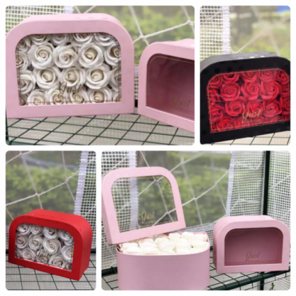 Rounded One sided Flower box Lovely box